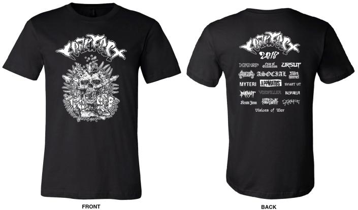 FearFest T-shirts